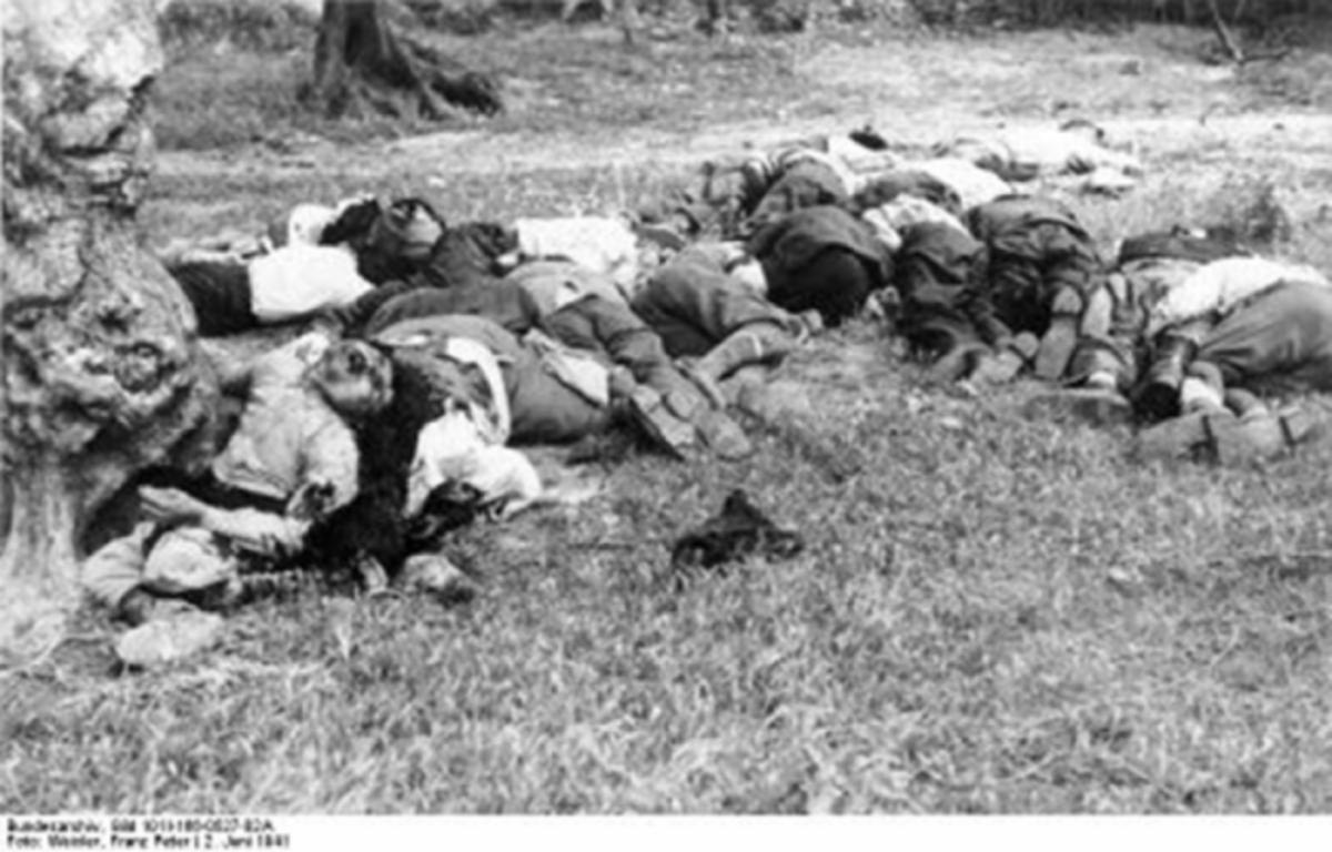 Γερμανική θηριωδία – Φωτογραφίες ντοκουμέντο από το Κοντομάρι | Newsit.gr