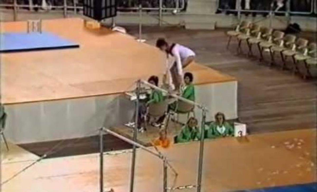 Αθλήτρια της ενόργανης έκανε ΑΥΤΗ την κίνηση, και μπήκε στην ιστορία! [vid] | Newsit.gr
