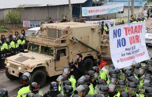 «Συναγερμός» στη Βόρεια Κορέα! Οι ΗΠΑ μεταφέρουν αντιπυραυλικό σύστημα [vids, pics]