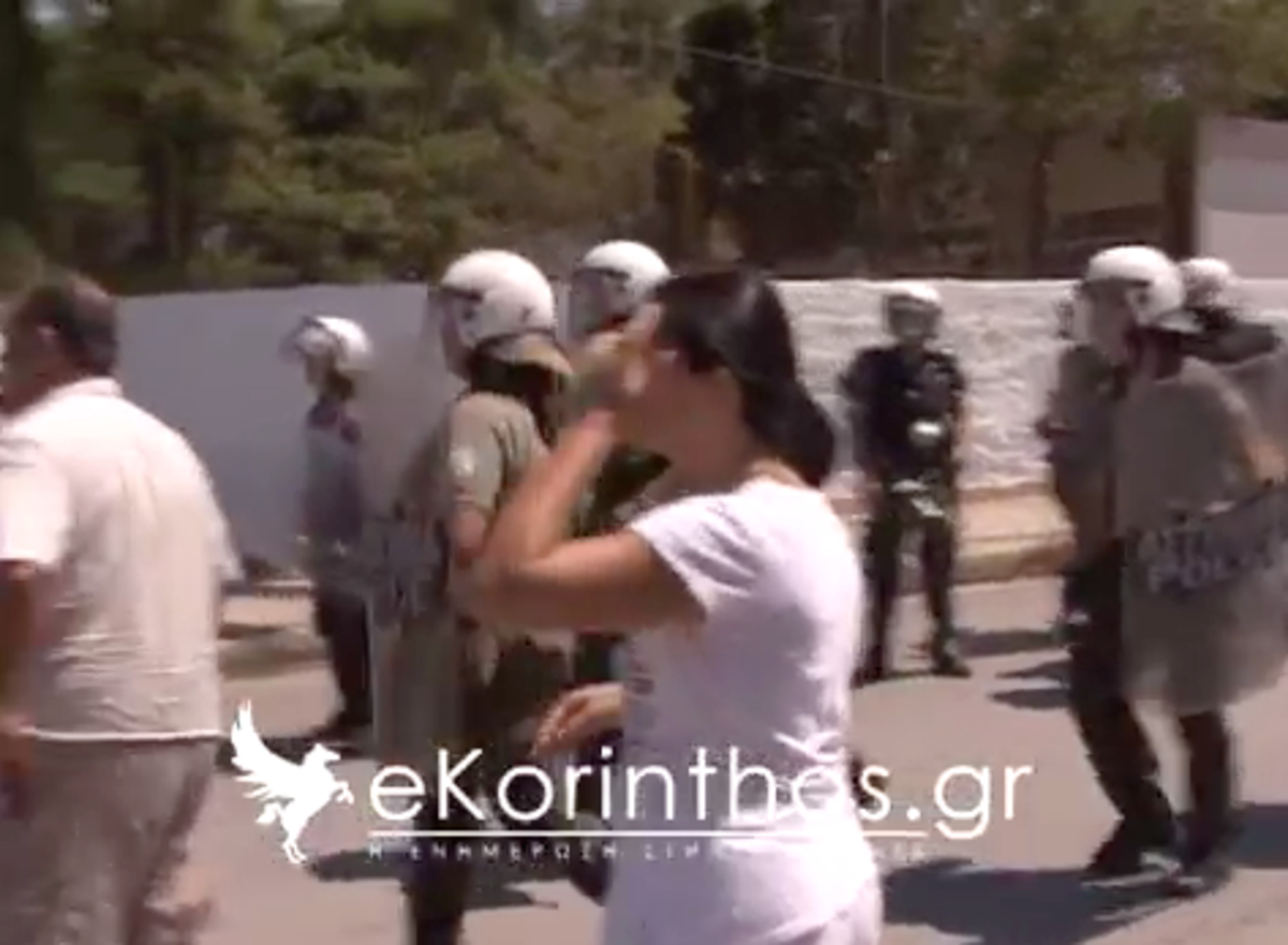 Το βίντεο της …ατυχούς πολιορκίας της Χρυσής Αυγής στη Κόρινθο   Newsit.gr