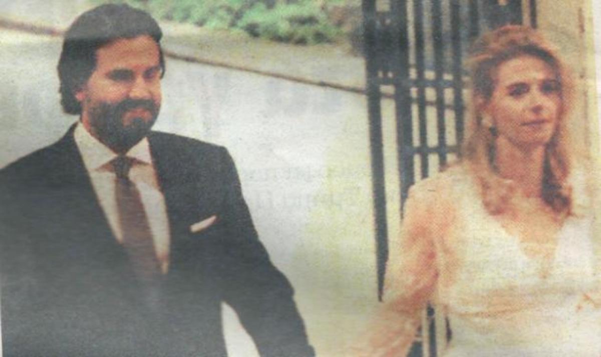 Ν. Κοτόβος – Α. Βιγκόπουλος: Φωτογραφίες από το μυστικό τους γάμο στο Κολωνάκι! | Newsit.gr