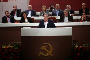 20ο Συνέδριο ΚΚΕ: Εξελέγη εκ νέου γραμματέας ο Κουτσούμπας – Τα ονόματα της νέας ΚΕ