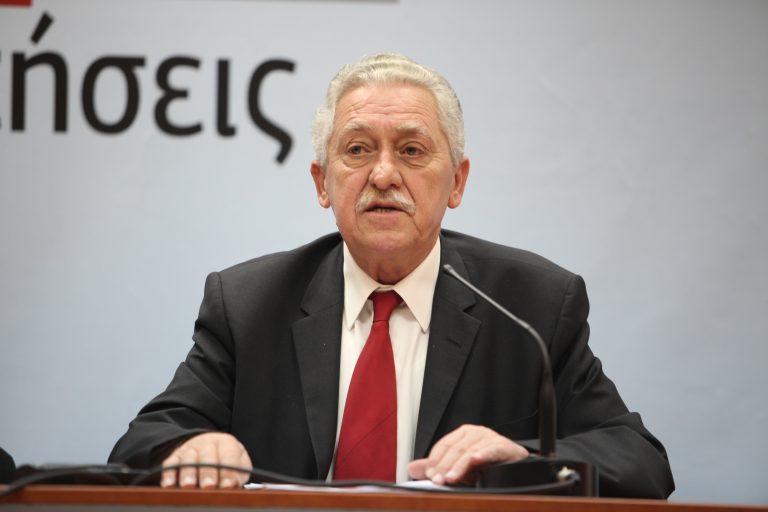 Κουβέλης: Η ελληνική κοινωνία εξάντλησε τα όριά της, δεν αντέχει άλλα μέτρα | Newsit.gr