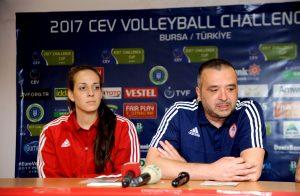Ολυμπιακός – Μπούρσα, Κοβάσεβιτς: «Οι Τουρκάλες έχουν την πίεση»