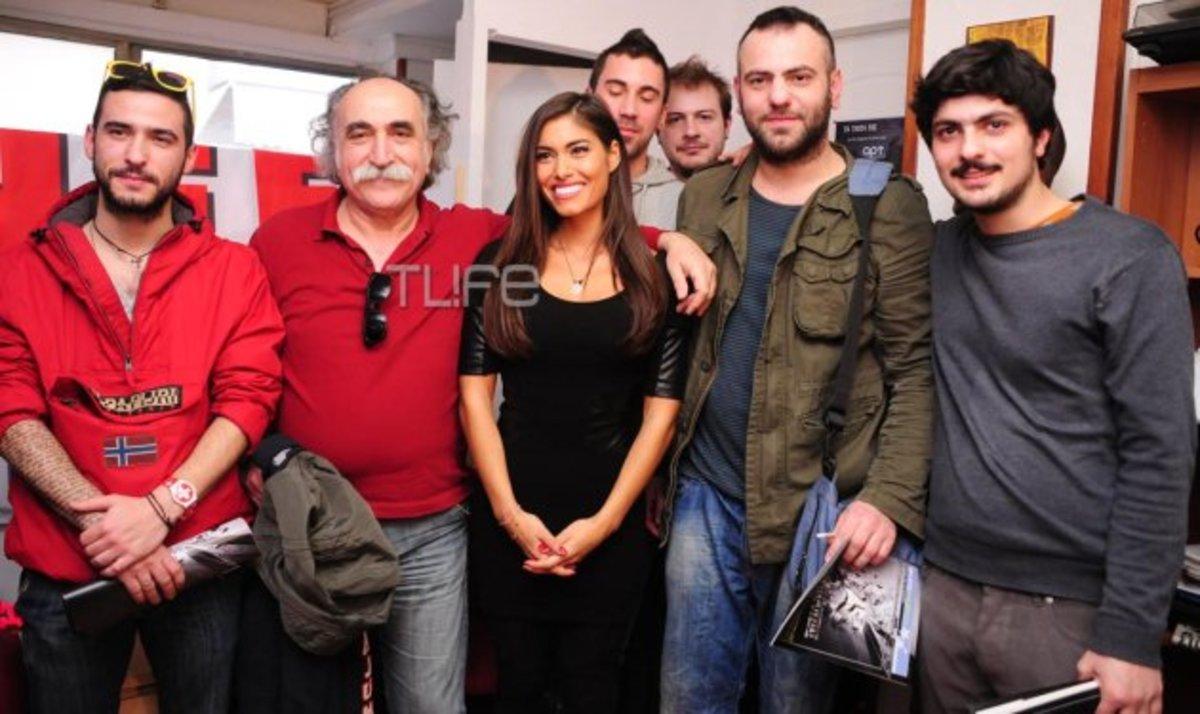 To TLIFE συνάντησε την Θ. Απέργη και τους Koza Mostra λίγο πριν την Eurovision! Φωτογραφίες | Newsit.gr