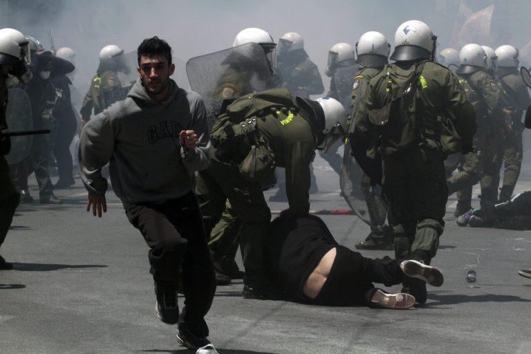 Ηράκλειο: Δύο τραυματίες από τα χθεσινά επεισόδια | Newsit.gr