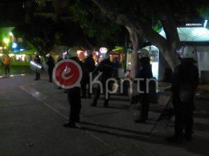 Πολυτεχνείο – Επεισόδια στο Ηράκλειο Κρήτης! Μπογιές και σπασμένες τζαμαρίες