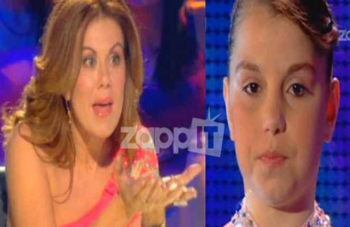 Η αυστηρή κριτική της Μανωλίδου στη μικρή διαγωνιζόμενη!   Newsit.gr