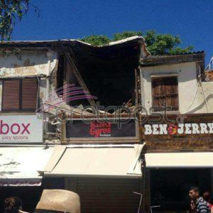 Κατάρρευση κτιρίου στο κέντρου του Ηρακλείου!
