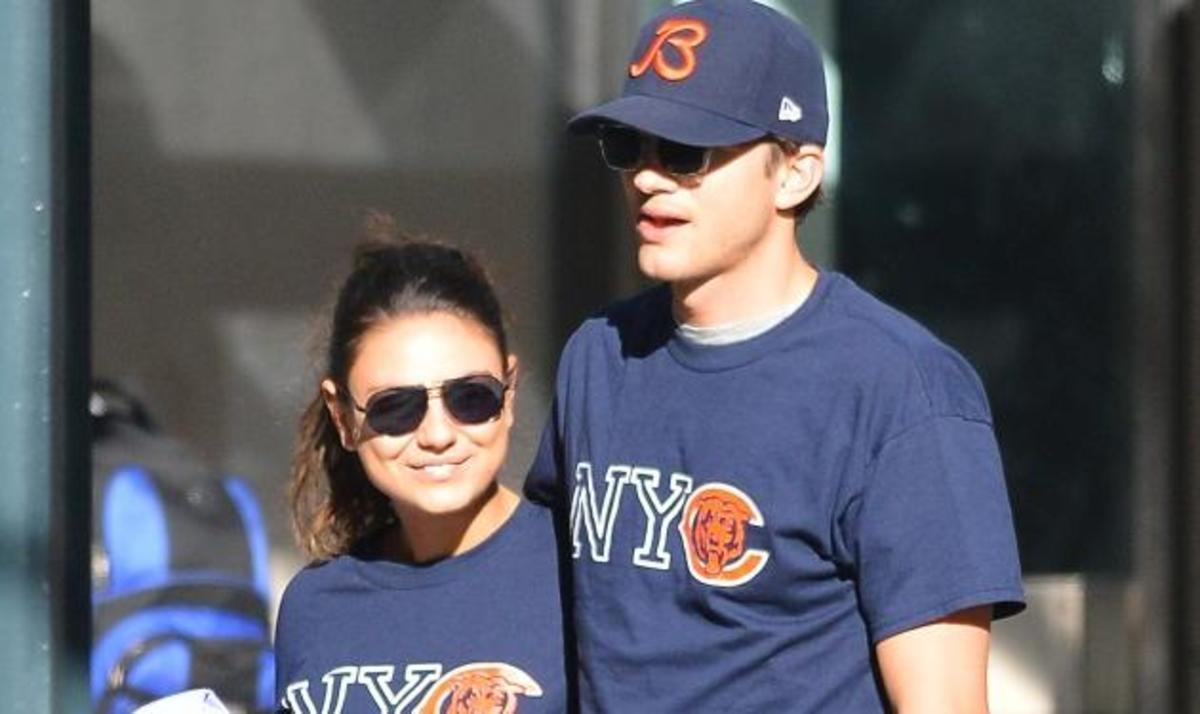 Το τέλειο ζευγάρι!  Ο A. Kutcher και η M. Kunis πήγαν βόλτα φορώντας… τα ίδια ρούχα! | Newsit.gr
