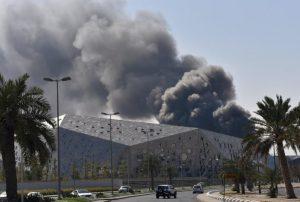 Έπιασε φωτιά η Όπερα του Κουβέιτ, τρεις μήνες μετά τα εγκαίνια [pics, vids]