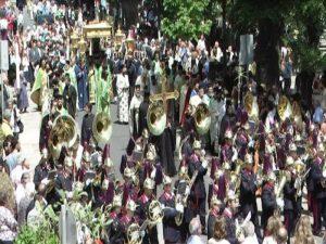 Κέρκυρα: Το θαύμα του Αγίου Σπυρίδωνα την Κυριακή των Βαΐων