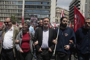 Απεργία: Χωρίς την Ζωή στο πλευρό του ο Λαφαζάνης