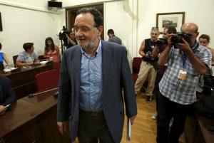 """Εκλογές – Λαφαζάνης: Η κυβέρνηση δεν """"έπεσε"""", παραιτήθηκε – Ο Τσίπρας φοβήθηκε να πάει στη Βουλή να μετρηθούμε"""