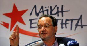Εκλογές 2015 – Λαφαζάνης: «Θα βάλουν μαύρες πλερέζες με δυνατή Λαϊκή Ενότητα»