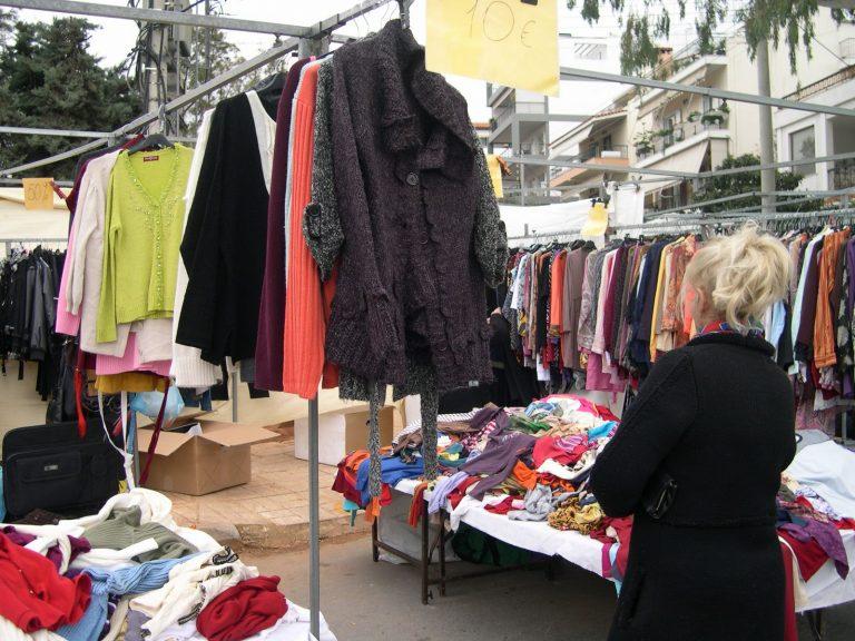 Ηράκλειο: «Πλακωθηκαν» οι μικροπωλητές στη λαϊκή των Πατελών | Newsit.gr