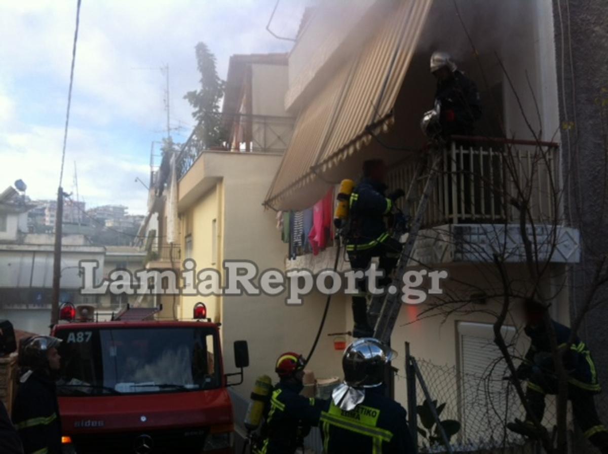 Λαμία: Δύο κοριτσάκια εγκλωβίστηκαν σε φλεγόμενο διαμέρισμα!   Newsit.gr