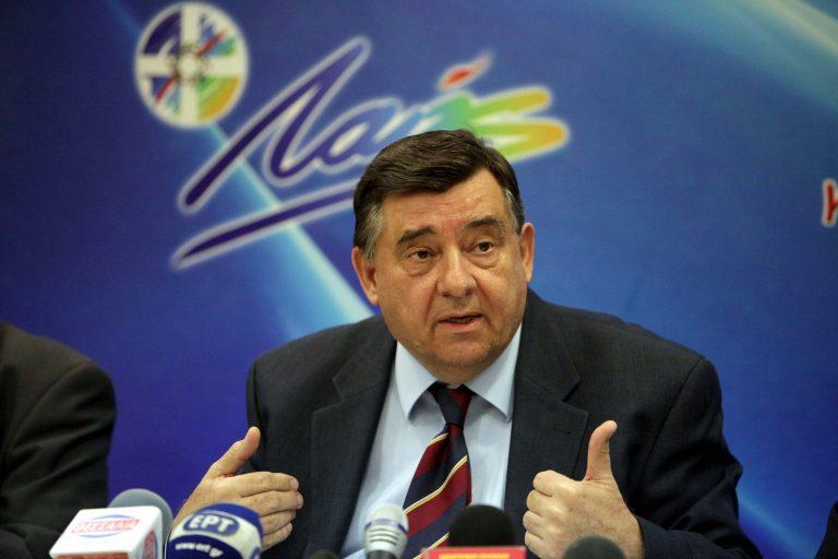 Καρατζαφέρης: Ο λαός πρέπει να ψηφίσει με λογική και ψυχραιμία – Αιχμές για ΝΔ-ΠΑΣΟΚ   Newsit.gr