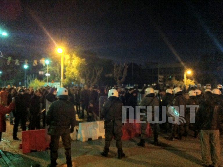 Επεισοδιακή η ομιλία του Άδωνι στο Χολαργό – Δείτε φωτό | Newsit.gr