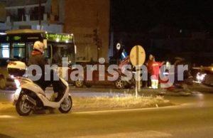 Λάρισα: Καραμπόλα με 4 τραυματίες!