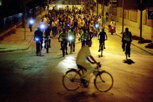 Νυχτερινή ποδηλατάδα στη Λάρισα! Δείτε φωτό
