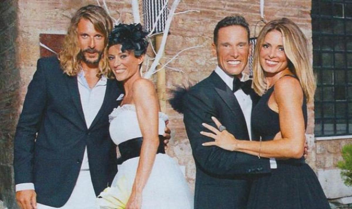 Λάσπα – Νικολόπουλος: Κουμπάροι στον γάμο της κουμπάρας τους! | Newsit.gr