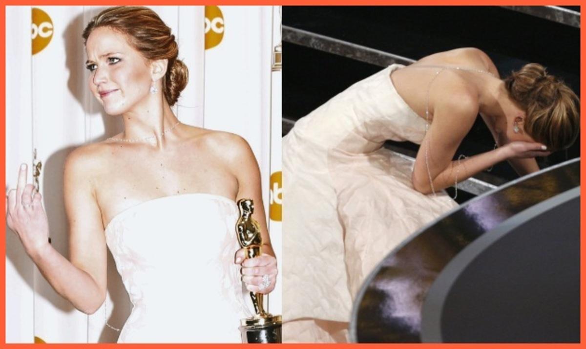 H τούμπα της Jennifer Lawrence και η άσεμνη χειρονομία μετά το Oscar! | Newsit.gr