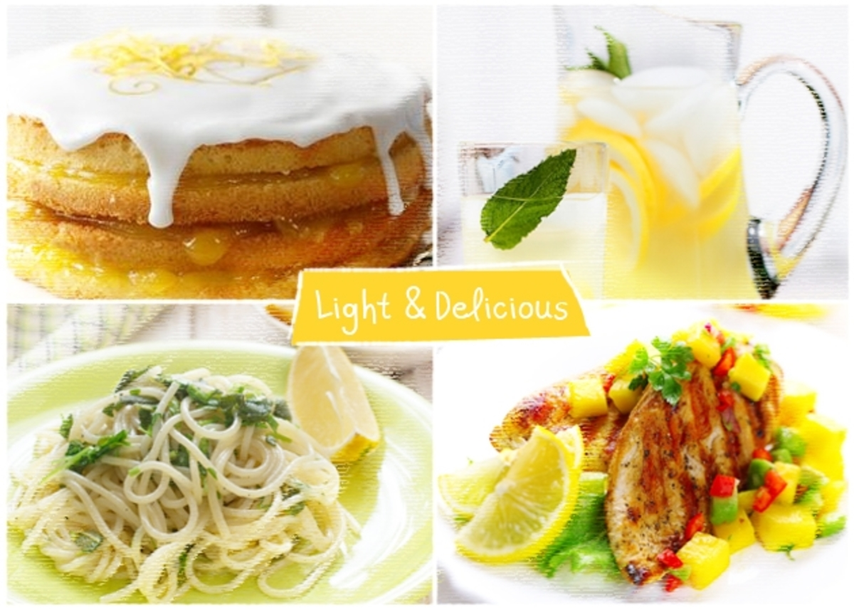 Citron-τρέλα! Συνταγές με βάση το λεμόνι και λιγότερες από 300 θερμίδες… | Newsit.gr