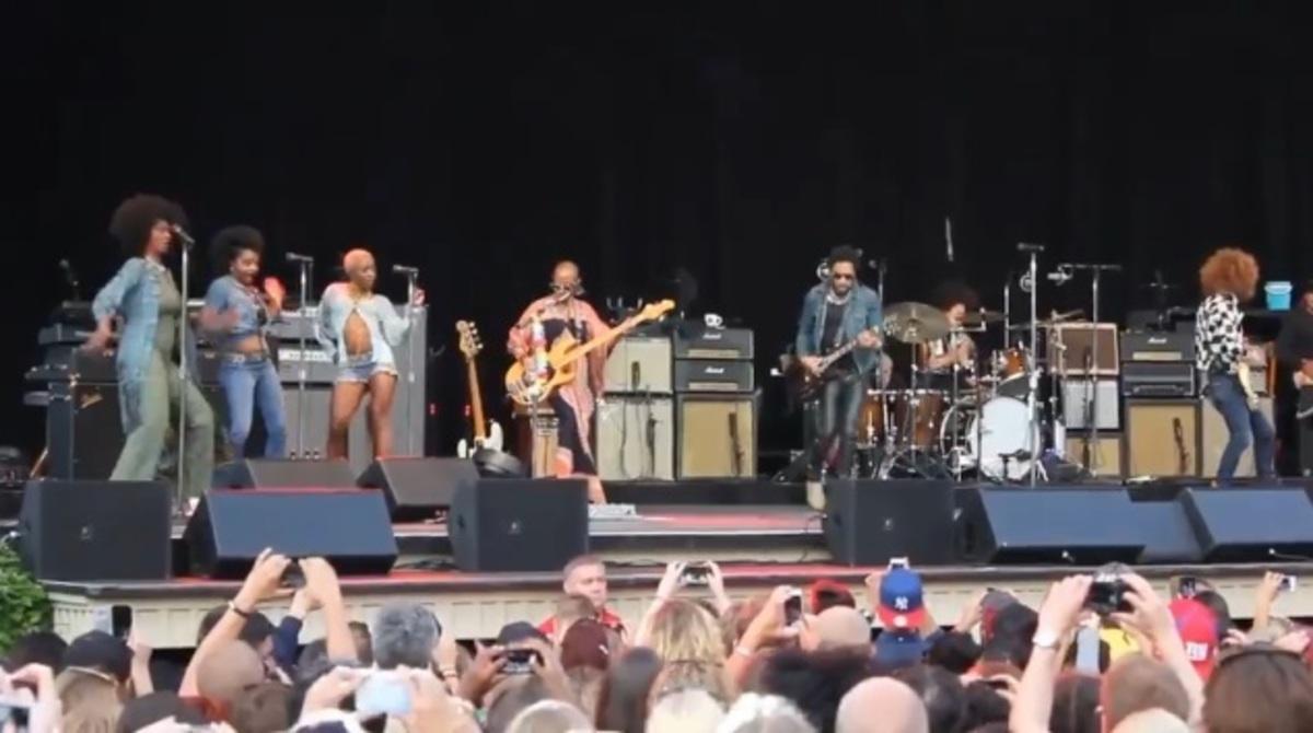 Αποκαλύφθηκε το πέος του Lenny Kravitz στη σκηνή! (ΦΩΤΟ, ΒΙΝΤΕΟ)