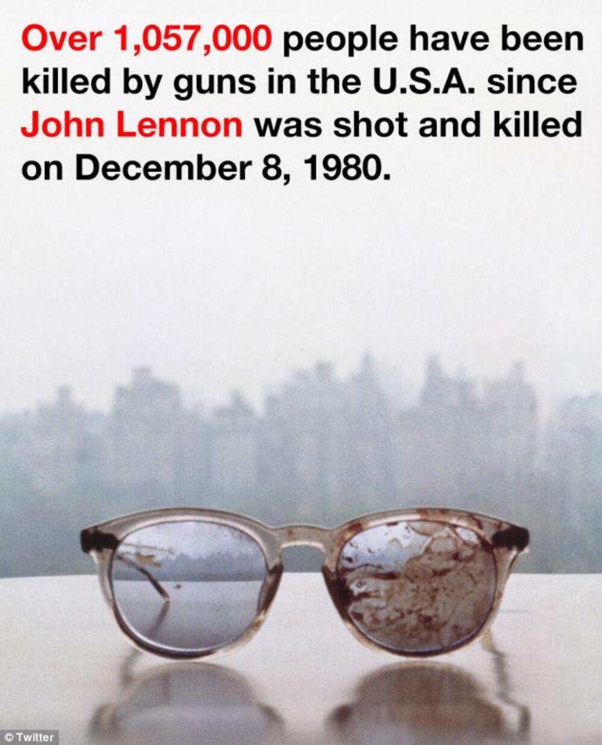 Γιατί η Γιόκο Όνο έκανε tweet τα ματωμένα γυαλιά του Λένον; (ΦΩΤΟ) | Newsit.gr