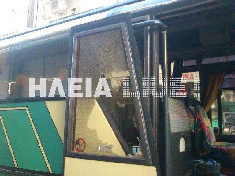Ηλεία: Μεθυσμένος επιτέθηκε σε λεωφορείο των ΚΤΕΛ με μαθητές! | Newsit.gr