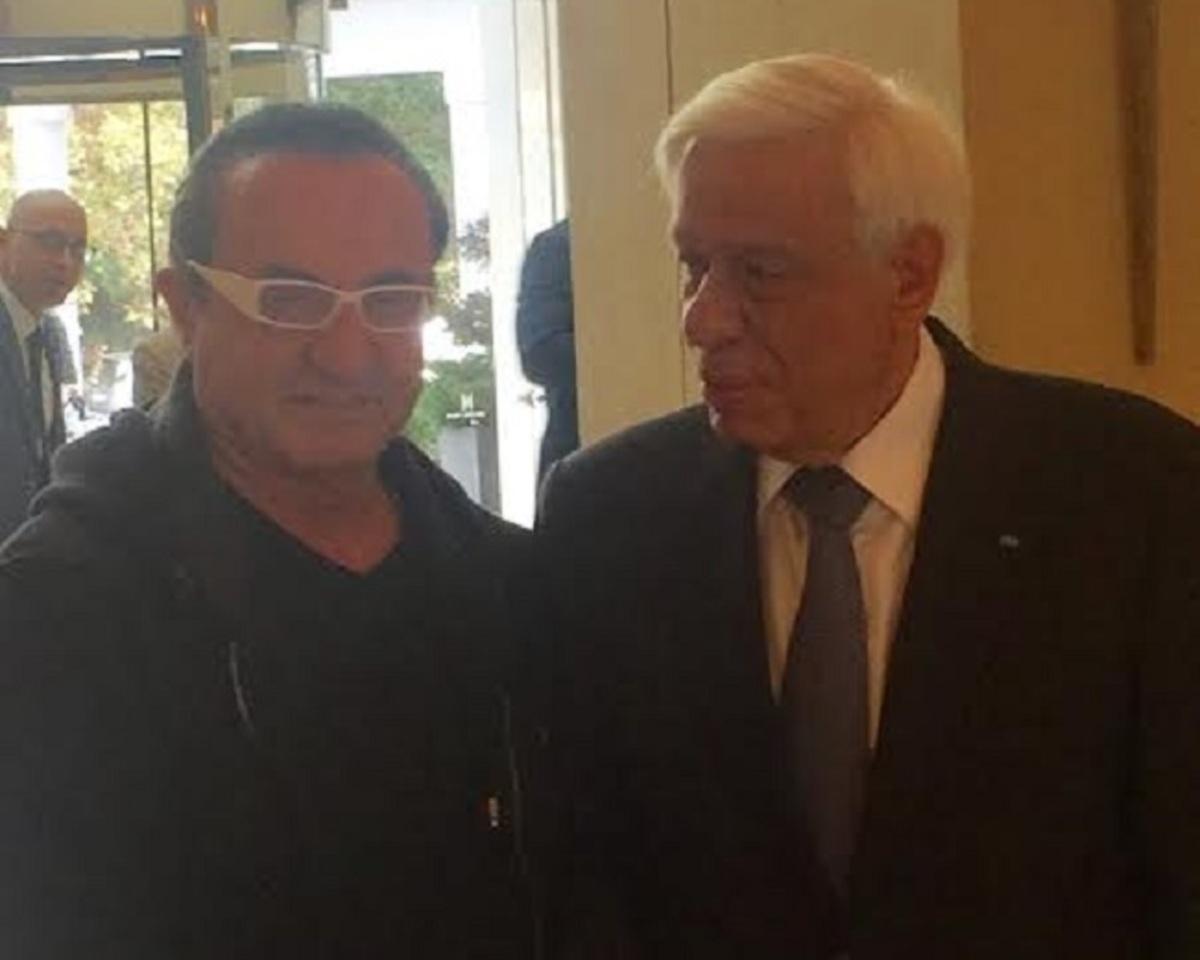 Όταν ο Προκόπης Παυλόπουλος συνάντησε τον Λευτέρη Πανταζή! [pic] | Newsit.gr