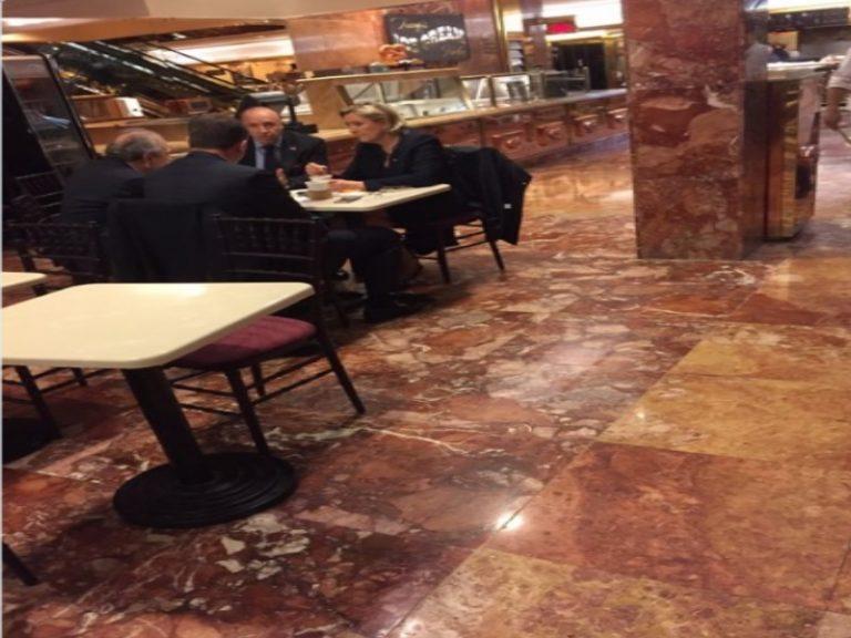 Τί γυρεύει η Μαρίν Λεπέν στον ουρανοξύστη του Τραμπ; [pic] | Newsit.gr