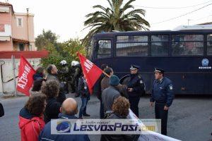 Αστυνομικά μπλόκα παντού στη Λέσβο για την ομιλία Κασιδιάρη – Λαγού [vid]