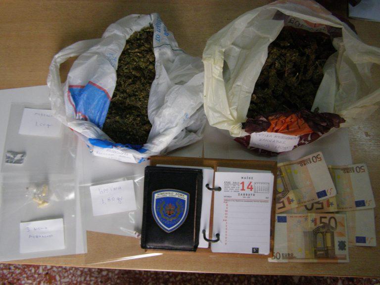 Λέσβος: Έκρυβε κάνναβη, ηρωίνη και χάπια στη βαλίτσα του! | Newsit.gr