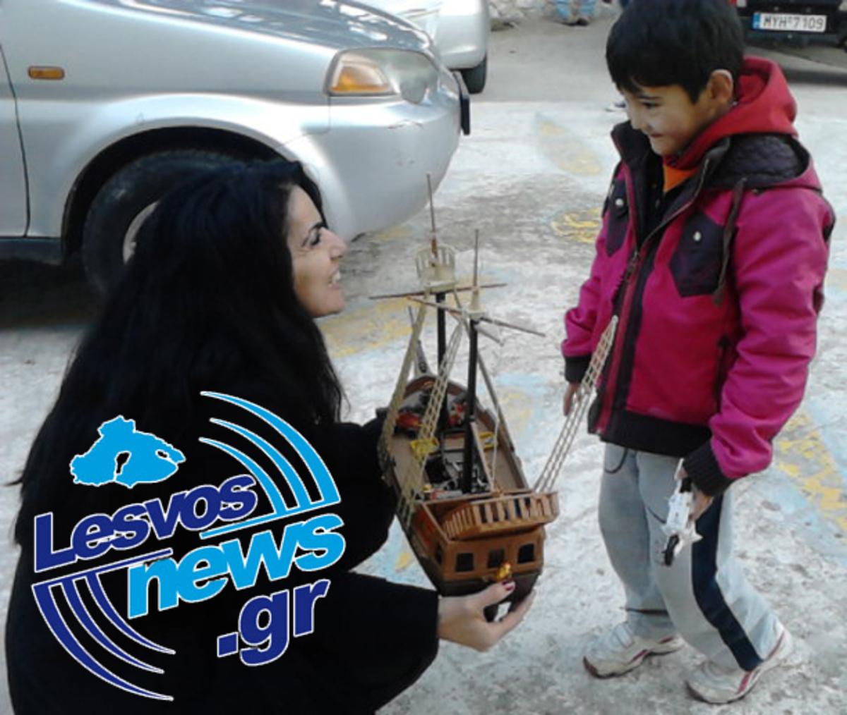 Λέσβος: «Τσουνάμι» αγάπης για τους μετανάστες (φωτό και video) | Newsit.gr