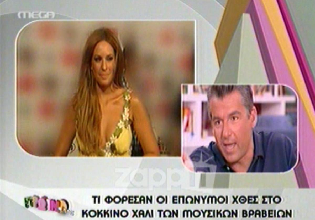 Ο Λιάγκας σχολιάζει το μπούστο της Χρηστίδου   Newsit.gr