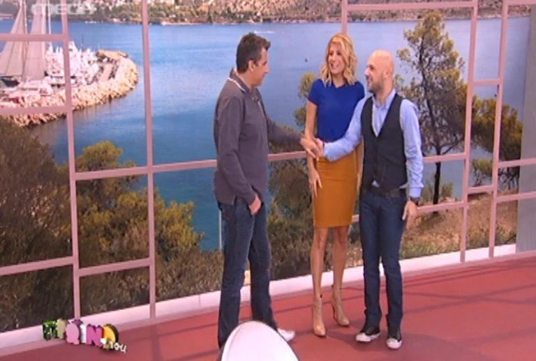 Τι έγινε όταν ο Λιάγκας συνάντησε τον Μουτσινά; | Newsit.gr