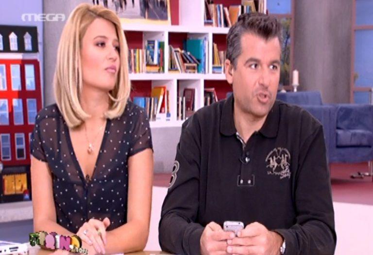 Ο Λιάγκας εκνευρίζεται με την Σταμάτη με αφορμή τον Λάτσιο!   Newsit.gr