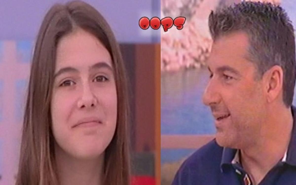 Ο Λιάγκας ρώτησε την 12χρονη αν της αρέσει ο Πετρετζίκης ως άντρας! | Newsit.gr