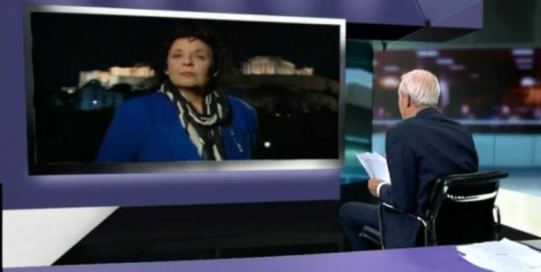 Η περήφανη Λιάνα Κανέλλη στο αγγλικό «CHANNEL 4»! | Newsit.gr