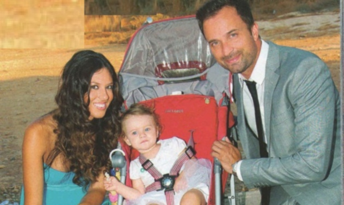 Γ. Λιανός – Α. Ανδροτσάκη: Γιόρτασαν τα πρώτα γενέθλια της κόρης τους! | Newsit.gr