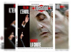 Ο «νεκρός» Σαρκοζί στο πρωτοσέλιδο της Liberation