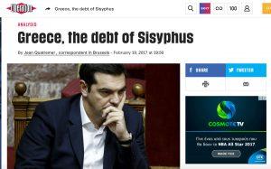 Από την αρχαιότητα στη σαπουνόπερα, μια ελληνική κρίση δρόμος για τη Liberation