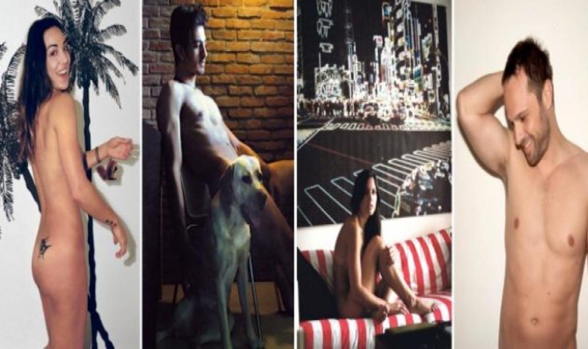 Οι stars φωτογραφίζονται ξανά γυμνοί για το Naked City της Lifo! | Newsit.gr