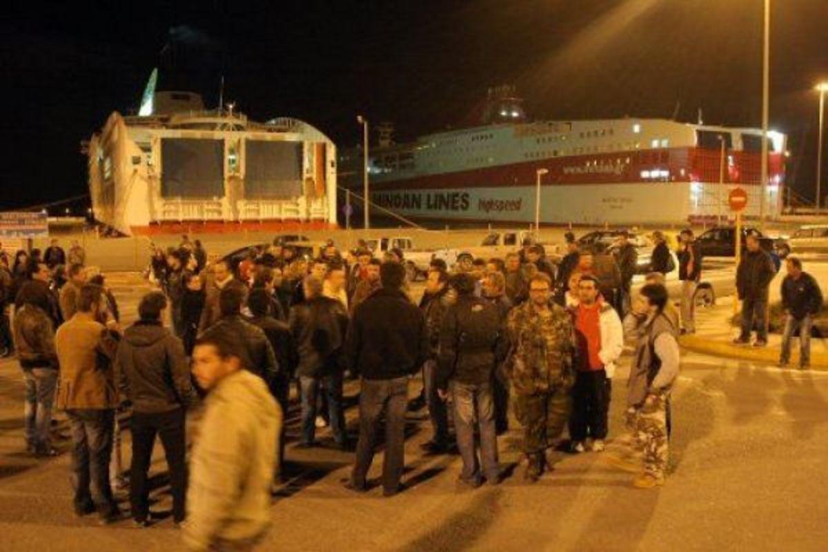 Στο λιμάνι του Ηρακλείου οι παραγωγοί κηπευτικών της Ιεράπετρας – Ζητούν πολιτική λύση για τη μεταφορά των προϊόντων τους | Newsit.gr