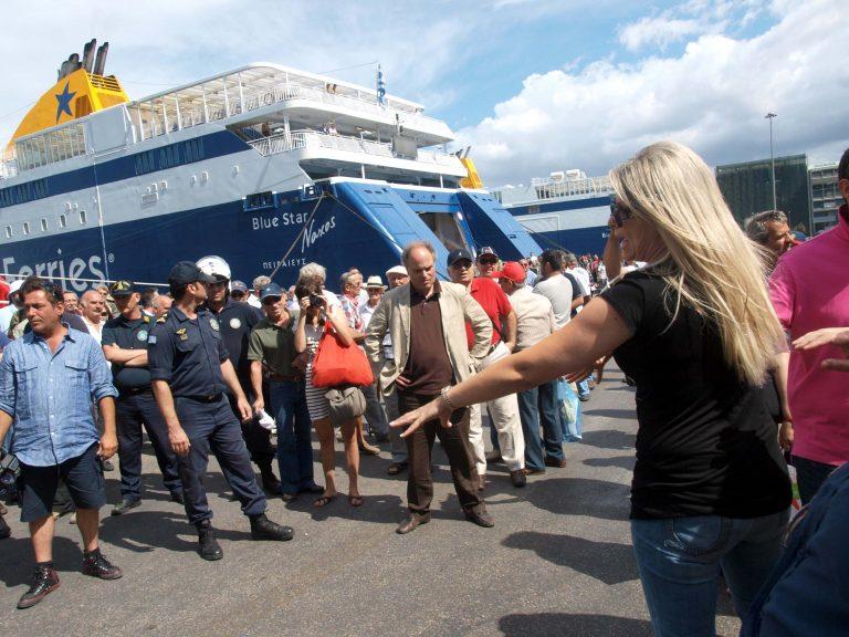 Το σχόλιο του Γιάννη Λοβέρδου για το μαρτύριο στο λιμάνι του Πειραιά | Newsit.gr