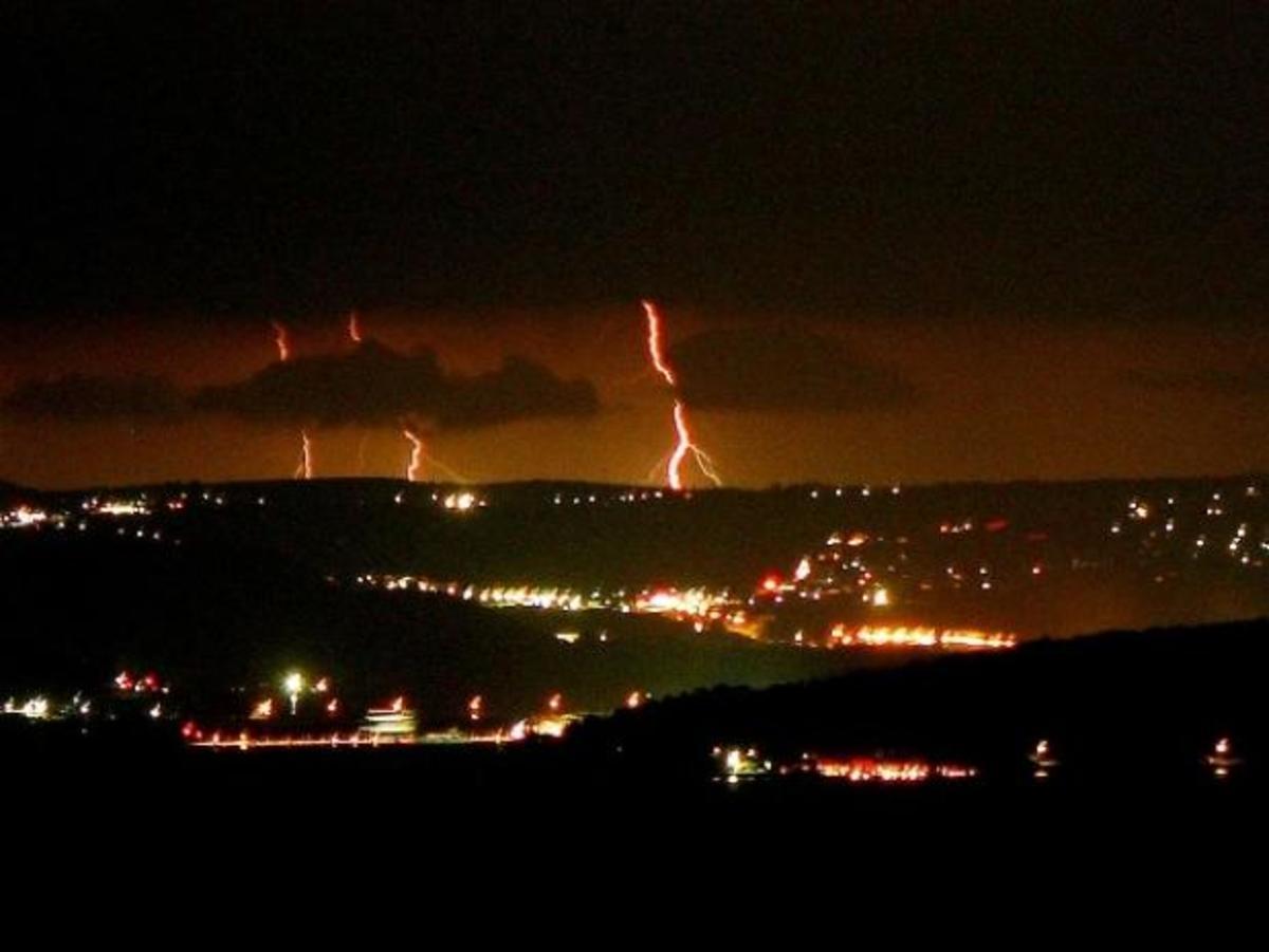 Κόκκινη καταιγίδα στο Ληξούρι – ΦΩΤΟ | Newsit.gr