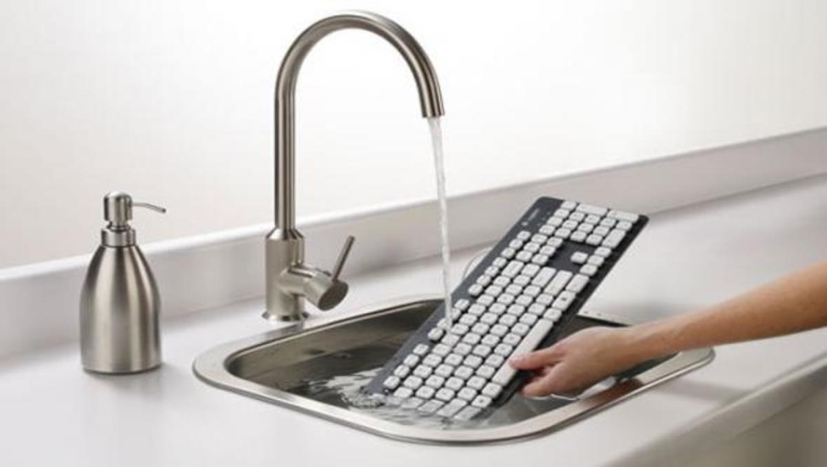 Ένα πληκτρολόγιο που… μπορείτε να πλύνετε! | Newsit.gr