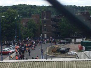 Αναστάτωση στο Λονδίνο! Συναγερμός και αποκλεισμός σιδηροδρομικού σταθμού! [vid, pic]